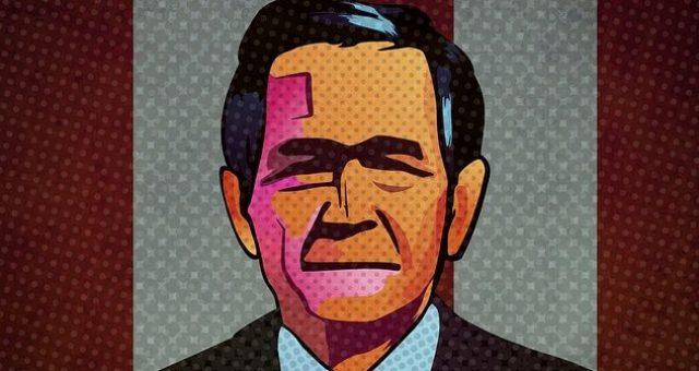 Was sah US-Präsident George W. Bush am Morgen des 11. September 2001?