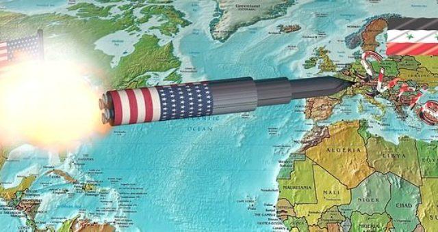 Angriff der führenden westlichen Kriegstreiber – Syrien unter Beschuß
