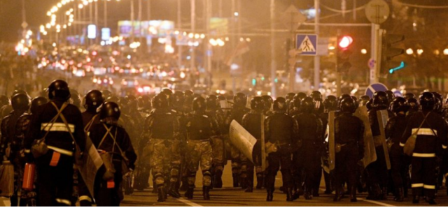 You are currently viewing Ein kurzes Update zu den Ereignissen in Weißrussland