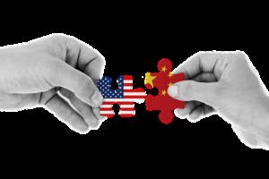 Lockdown des Westens, um China herunterzufahren
